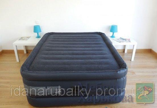 Велюровая надувная кровать Intex 64440 - Надувные кровати и матрасы для сна в Харькове