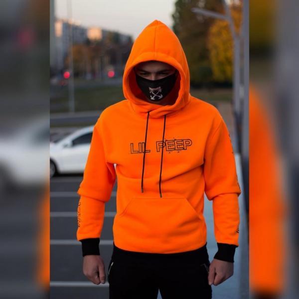 Худи утепленный Ira - Lil Peep, Orange