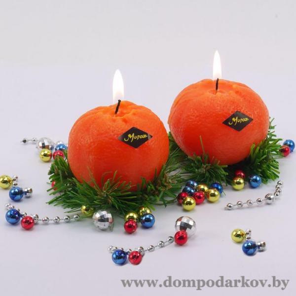 Фото Подарки на Новый год 2020 Новогодняя свеча