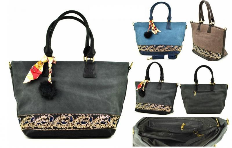 Фото Женские сумки, Модная классика. Экокожа и комбинированные  Сумка из экокожи Dudlin