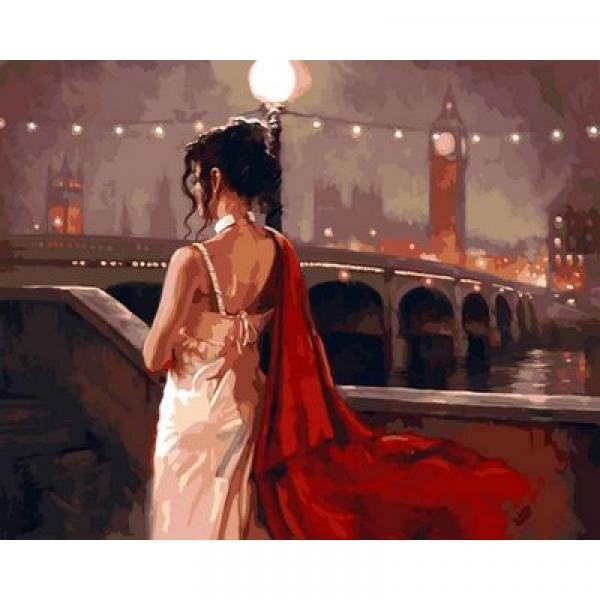 Фото Картины на холсте по номерам, Романтические картины. Люди Картина по номерам VP 546