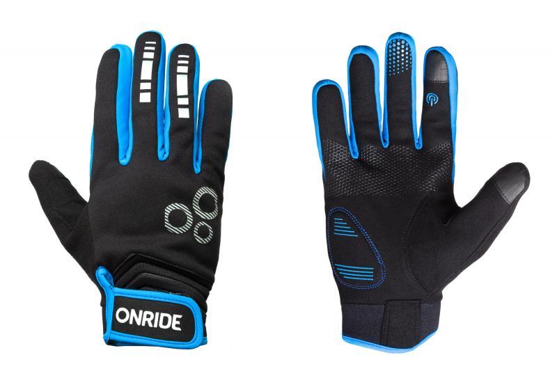 Рукавички ONRIDE Pleasure 20 чорний/синій