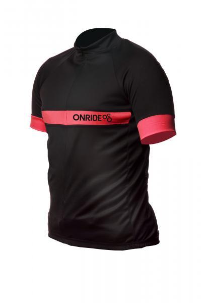 Веломайка ONRIDE Groove чорна/червона XL