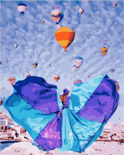 Фото Картины на холсте по номерам, Романтические картины. Люди KGX 24906