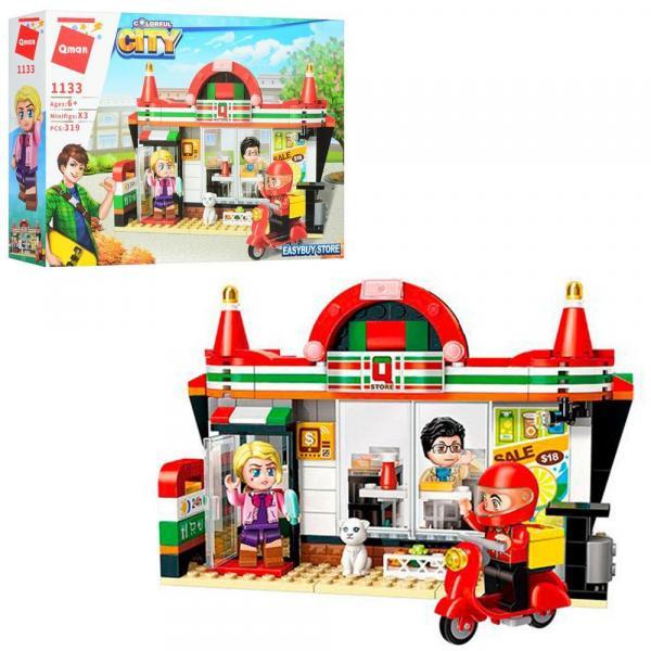 Фото Конструкторы, Конструкторы типа «Лего», Конструкторы для девочек (эльфы, friends, paradise) 1133 Конструктор BRICK Магазин 319 дет.