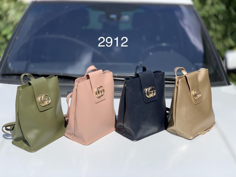 Сумка-рюкзак женская экокожа цвета разные Код2912