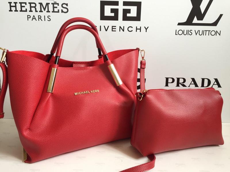 Женская сумка + клатч Michael Kors в разных цветах 0009-01