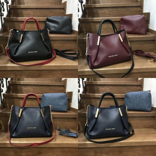 Женская сумка+косметичка Michel Kors в разных цветах 0006-01