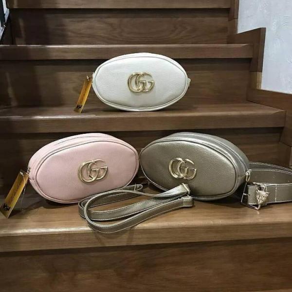 Поясная сумка-клатч разные цвета 0018-01