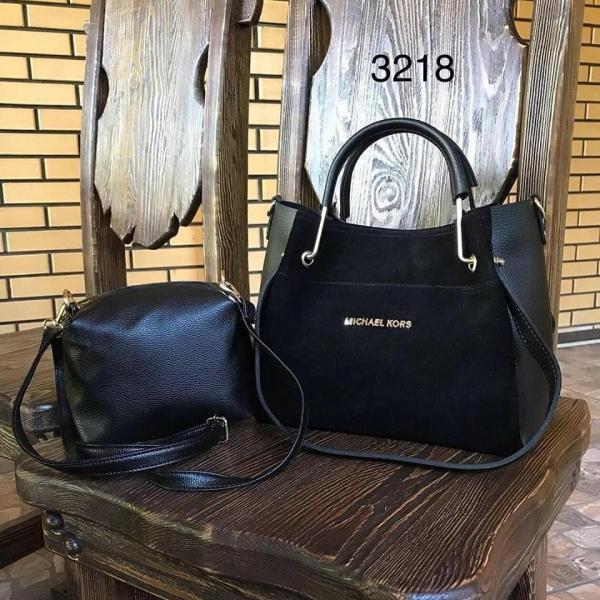 Женская сумка из натуральной замши в разных цветах Michael Kors 0070-01