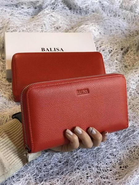 Женский кошелек красный. Код0073-01