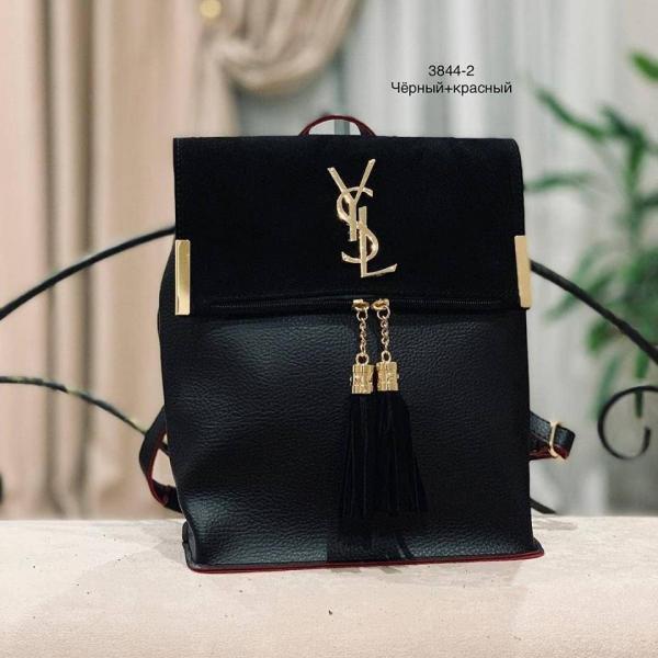 Сумка-рюкзак натуральная замша Код 3844