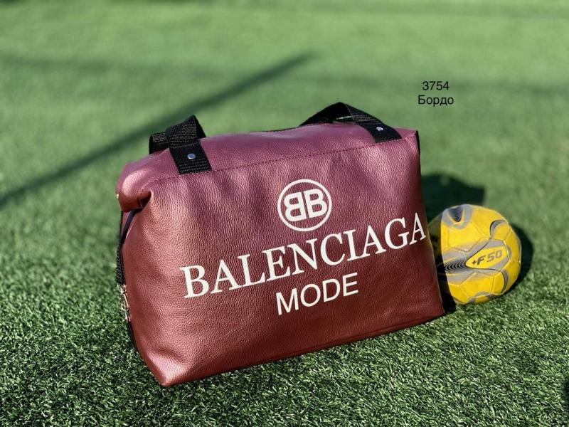 Спортивная сумка кожзам цвета разные Код 3754