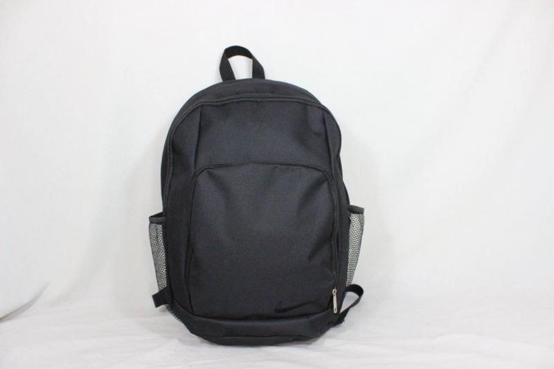 Школьный рюкзак без логотипа черный Код0148-01
