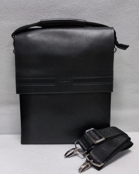 Сумка мужская черная Код М-0118