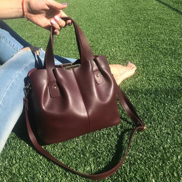 Женская сумка из высококачественной экокожи в разных цветах код 02