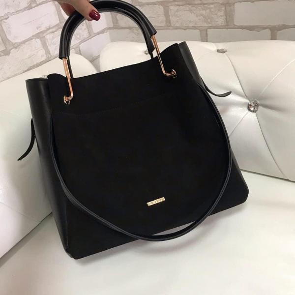 Женская сумочка из натуральной замши Код0130