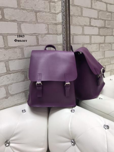 Женская сумка-рюкзак фиолетовый Код1043-2