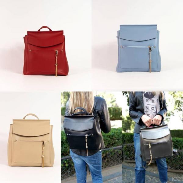 Рюкзак-сумка трансформер цвета разные Код К3219