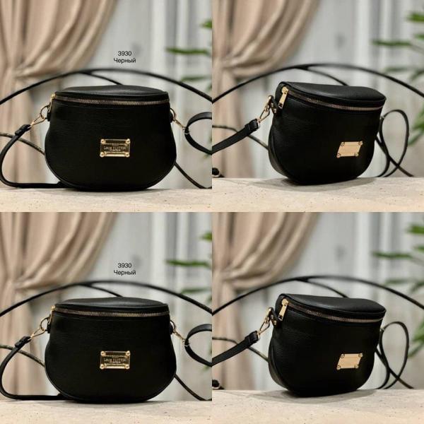 Маленькая сумочка темные тона Код 3930-1
