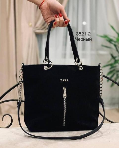 Женская сумка ZARA натуральная замша разные цвета Код3821