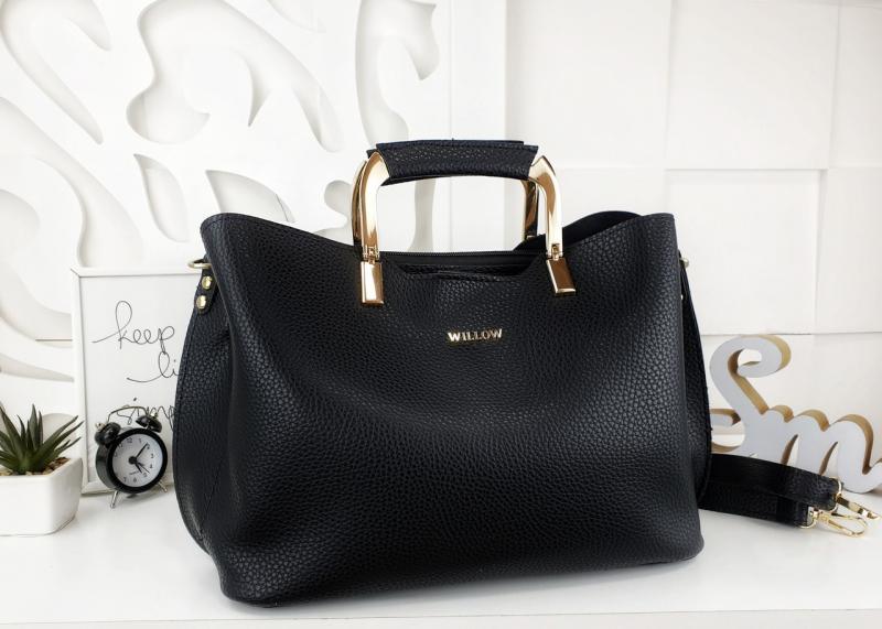 Женская сумка черная Код03058КЖ-5