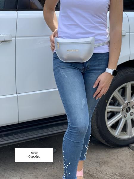 Поясная сумка-клатч женская цвета разные Код 3957-2