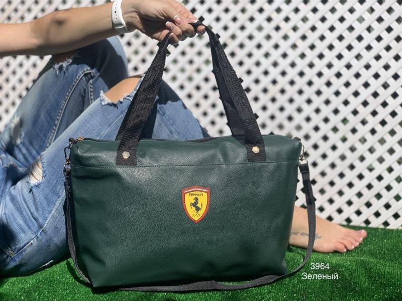 Дорожная сумка Ferrari в разных цветах Код3964