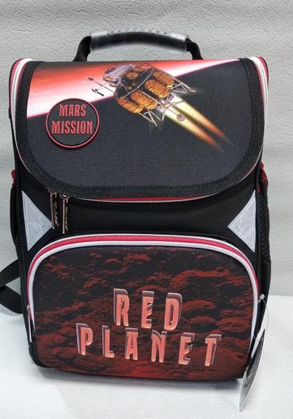 """Школьный рюкзак """"CLASS"""" чёрный+принт Код ШК-25"""