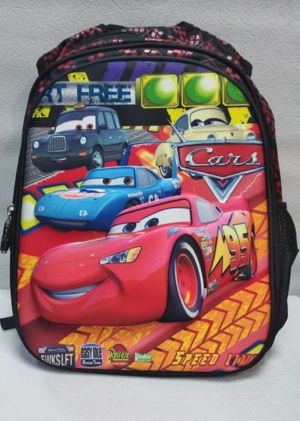 """Школьный рюкзак """"GORANGD"""" чёрный+принт Код ШК-31"""