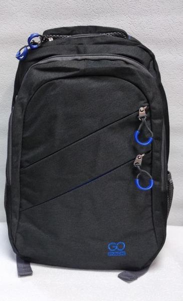 """Школьный рюкзак """"GO PACK"""" чёрный Код ШК-045"""