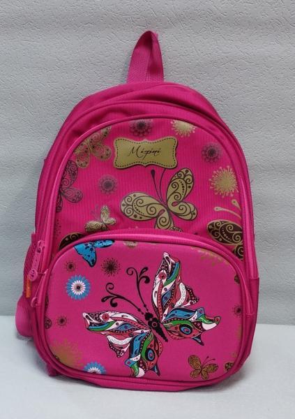 """Школьный рюкзак """"Miqini"""" розовый+принт Код ШК-051"""