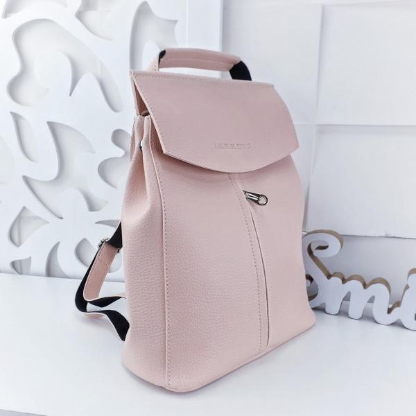 Сумка рюкзак женский эко-кожа структурная Код 02872-3