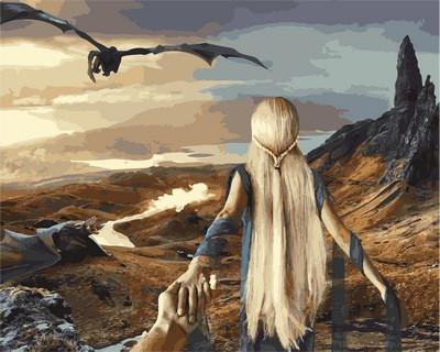 Фото Картины на холсте по номерам, Романтические картины. Люди VP837