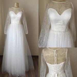 Фото Свадебные платья Свадебное платье с блеском Флоренция