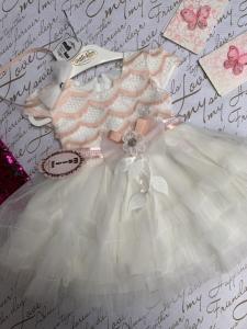 Фото Платья, туники, сарафаны Платье нарядное с обручем 1-4 года