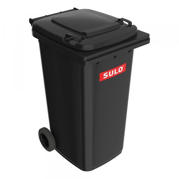 Контейнер мусорный 120 литров SULO, мусорный бак 120, 240, 1100 литров