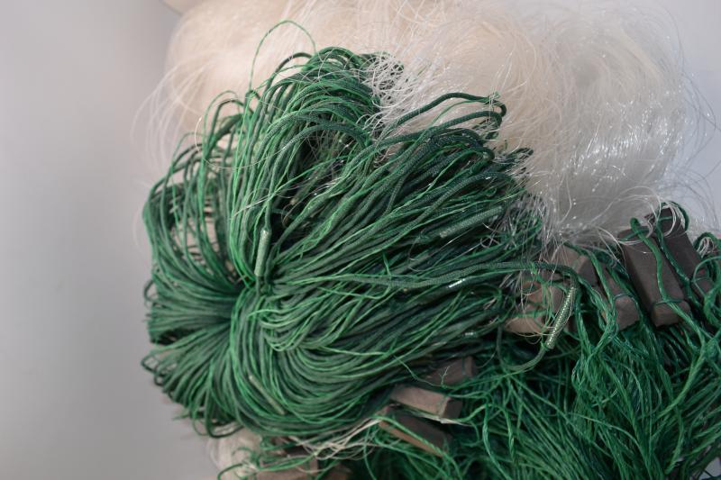 Фото Рыболовные сети (Для промышленного лова), Сети трехстенные  (Для промышленного лова) СЕТЬ РЫБОЛОВНАЯ ТРЕХСТЕННАЯ 3Х100М ЛЕСКА ЯЧЕЯ 40 (ПЛЕТ.ПОРЕЖ)
