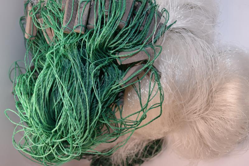 Фото Рыболовные сети (Для промышленного лова), Сети трехстенные  (Для промышленного лова) СЕТЬ РЫБОЛОВНАЯ ТРЕХСТЕННАЯ 3Х100М ЛЕСКА ЯЧЕЯ 50 (ПЛЕТ.ПОРЕЖ)