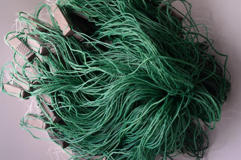 Фото Рыболовные сети (Для промышленного лова), Сети трехстенные  (Для промышленного лова) СЕТЬ РЫБОЛОВНАЯ ТРЕХСТЕННАЯ 3Х100М ЛЕСКА ЯЧЕЯ 55 (ПЛЕТ.ПОРЕЖ)