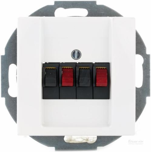ABB Basic 55 4 контакта белый 2539-94-507 61
