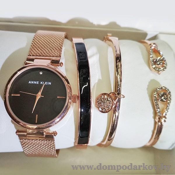 Фото ПОСМОТРЕТЬ ВЕСЬ КАТАЛОГ, Часы , Женские часы ANNE KLEIN НАБОР(AKN99)