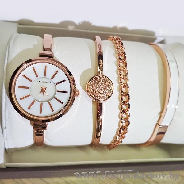 Фото ПОСМОТРЕТЬ ВЕСЬ КАТАЛОГ, Часы , Женские часы ANNE KLEIN НАБОР(AKN97)