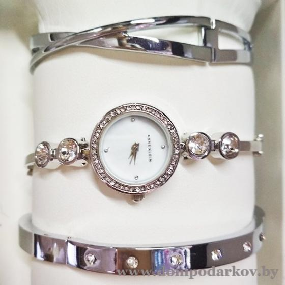 Фото ПОСМОТРЕТЬ ВЕСЬ КАТАЛОГ, Часы , Женские часы ANNE KLEIN НАБОР(AKN105)