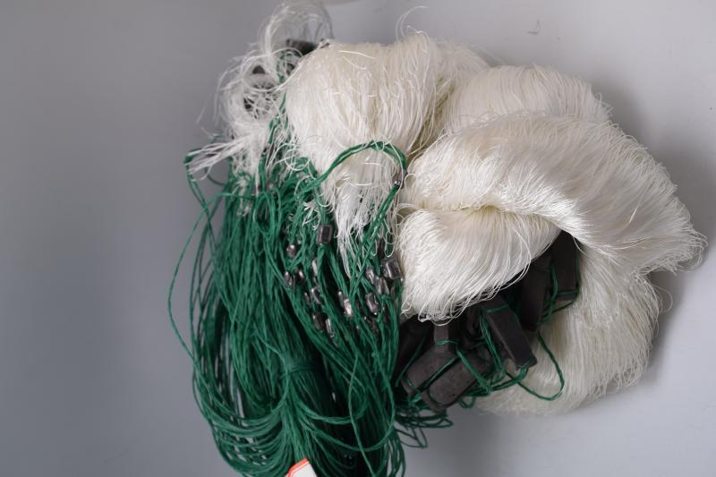Фото Рыболовные сети (Для промышленного лова), Сети одностенные  (Для промышленного лова) СЕТЬ РЫБОЛОВНАЯ ОДНОСТЕННАЯ 1.8Х100М ЯЧЕЯ 65 (НИТЬ)