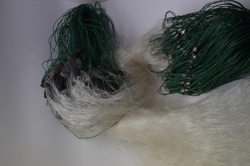 Фото Рыболовные сети (Для промышленного лова), Сети трехстенные  (Для промышленного лова) СЕТЬ РЫБОЛОВНАЯ ТРЕХСТЕННАЯ 1.6Х50М ЯЧЕЯ 30 (ОБ. ГРУЗ)