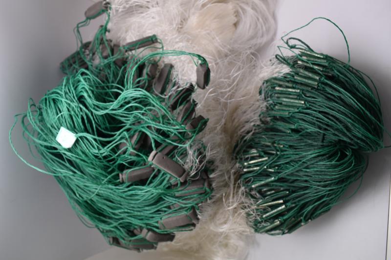 Фото Рыболовные сети (Для промышленного лова), Сети трехстенные  (Для промышленного лова) СЕТЬ РЫБОЛОВНАЯ ТРЕХСТЕННАЯ 3Х100М НИТЬ ЯЧЕЯ 45 (ПЛЕТ.ПОРЕЖ)