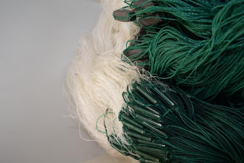 Фото Рыболовные сети (Для промышленного лова), Сети трехстенные  (Для промышленного лова) СЕТЬ РЫБОЛОВНАЯ ТРЕХСТЕННАЯ 3Х100М НИТЬ ЯЧЕЯ 50 (ПЛЕТ.ПОРЕЖ)