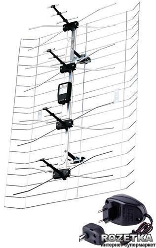 ТВ-антенна Emos ASP-30 (J0666) с усилителем
