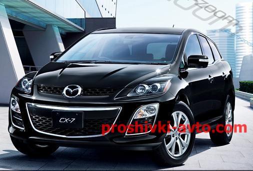 Фото MAZDA чип тюнинг, Diesel прошивка двигателя (прошивка эбу) Mazda CX-7 2.2 MZR-CD Denso GD08R2AXT38A Stage1 SRC DPF OFF_CSBAD3_csbad